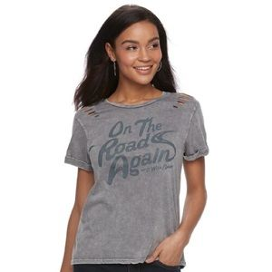 "Willie Nelson ""On The Road Again"" Tee"